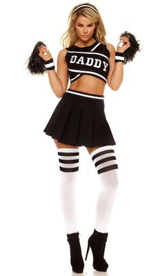 Forplay Daddy's Girl Cheerleader Costume