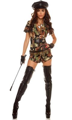 Forplay War Ready Female Solider Costume