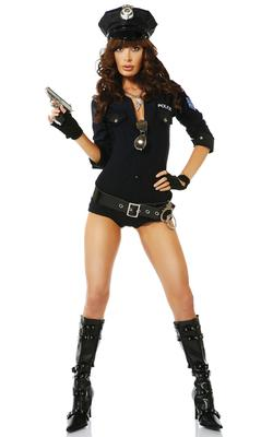 Forplay Racy Reinforcement Sexy Cop Costume